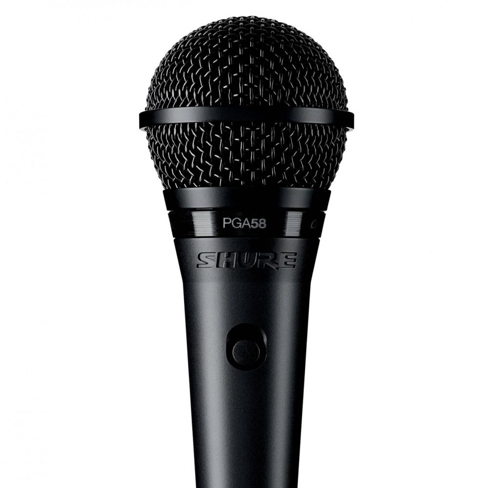 Microfone Shure Profissional Pga58 Lc
