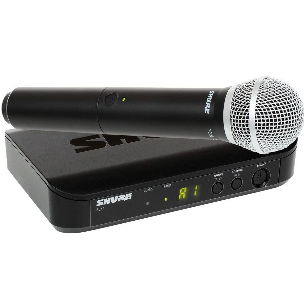 Microfone Shure Sem Fio Profissional Blx24br Pg58 J10