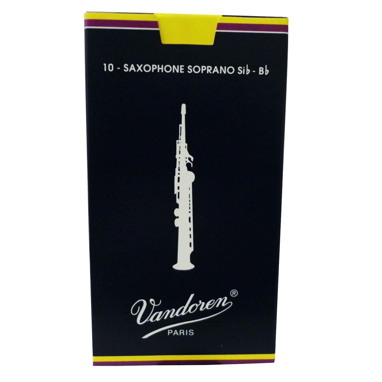 Palheta Vandoren Sax Soprano Tradicional