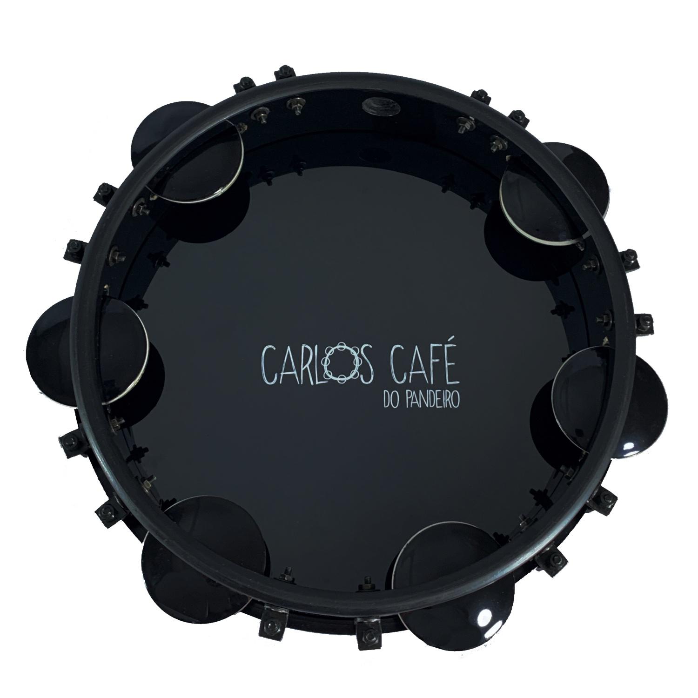 Pandeiro Contemporanea Black 10 Carlos Café 31pbcf