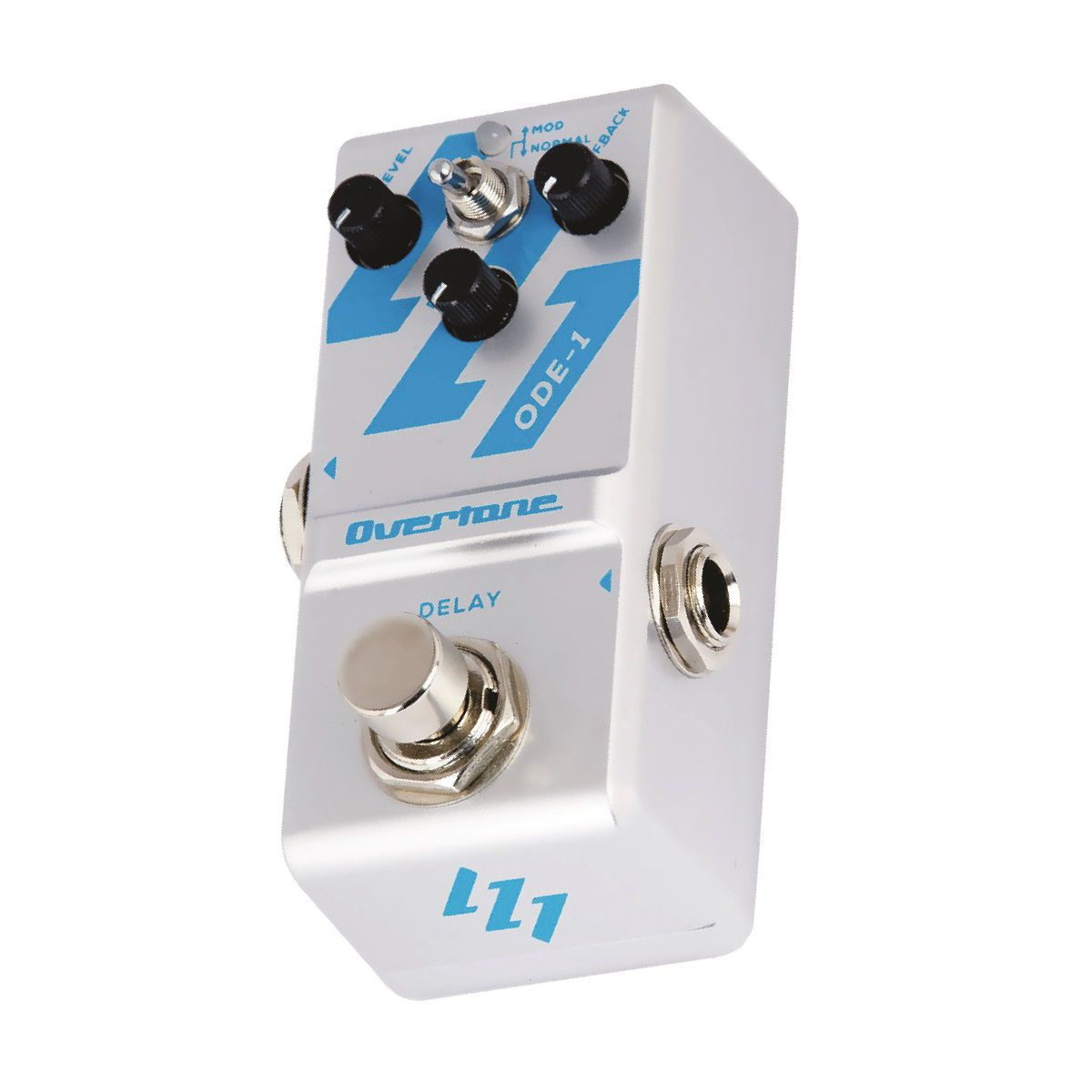 Pedal Overtone Delay Ode 1