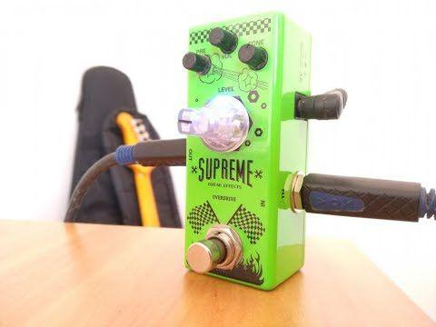 Pedal Overtone Supreme Overdrive