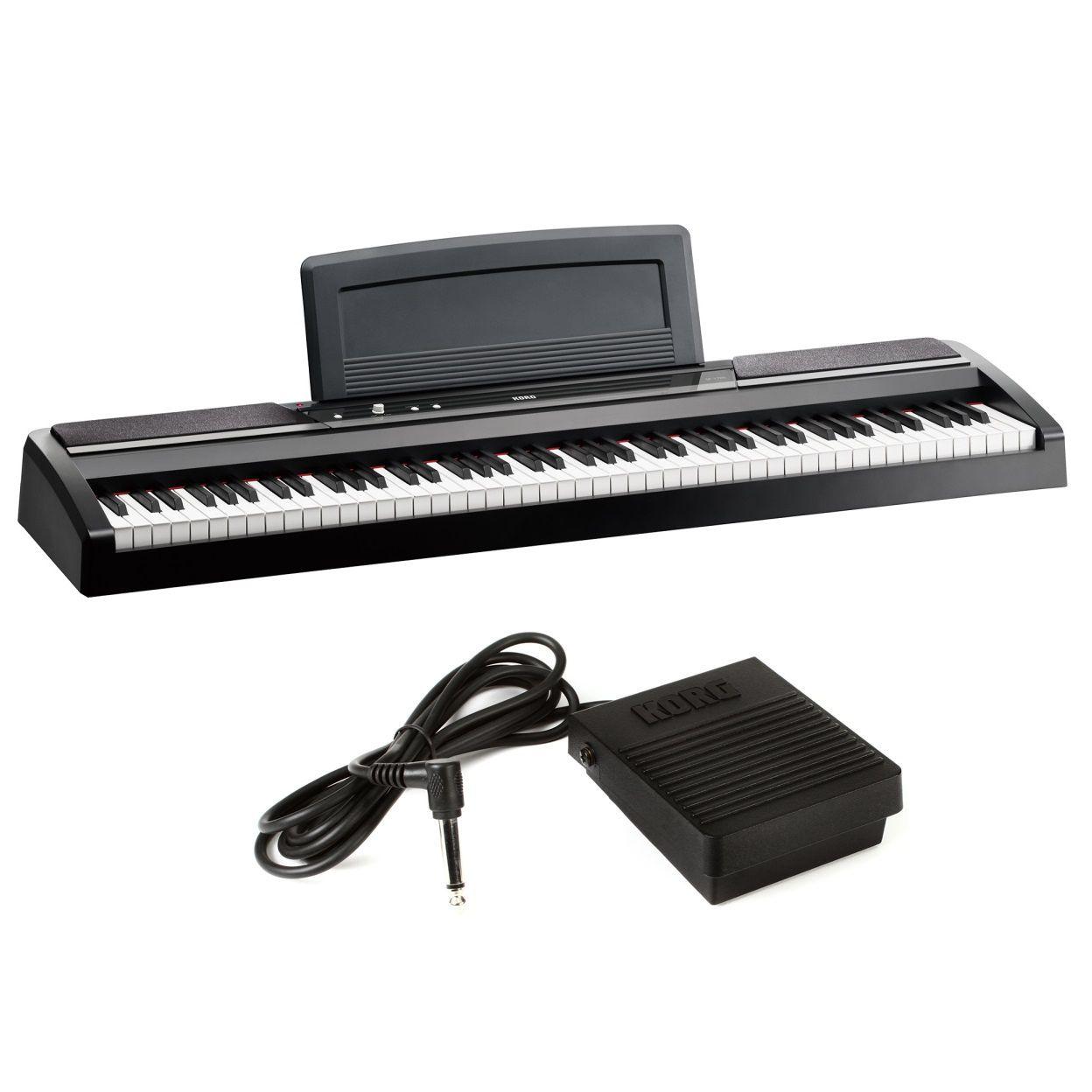 Piano Digital Korg Sp170S Bk 88 Teclas Pesadas