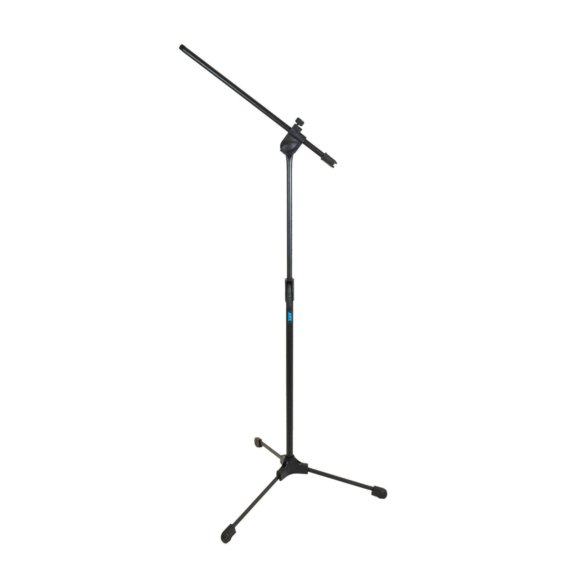 Suporte Pedestal Microfone Ask Universal Simples Tps