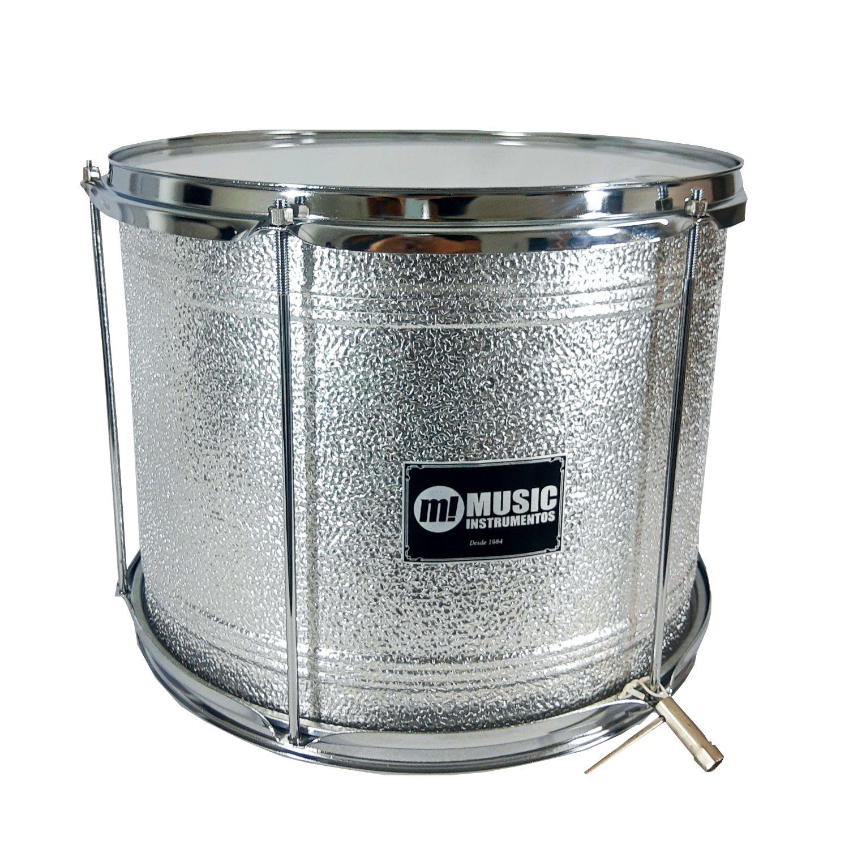 Surdo Phx Aluminio Texturizado 14 x 30cm