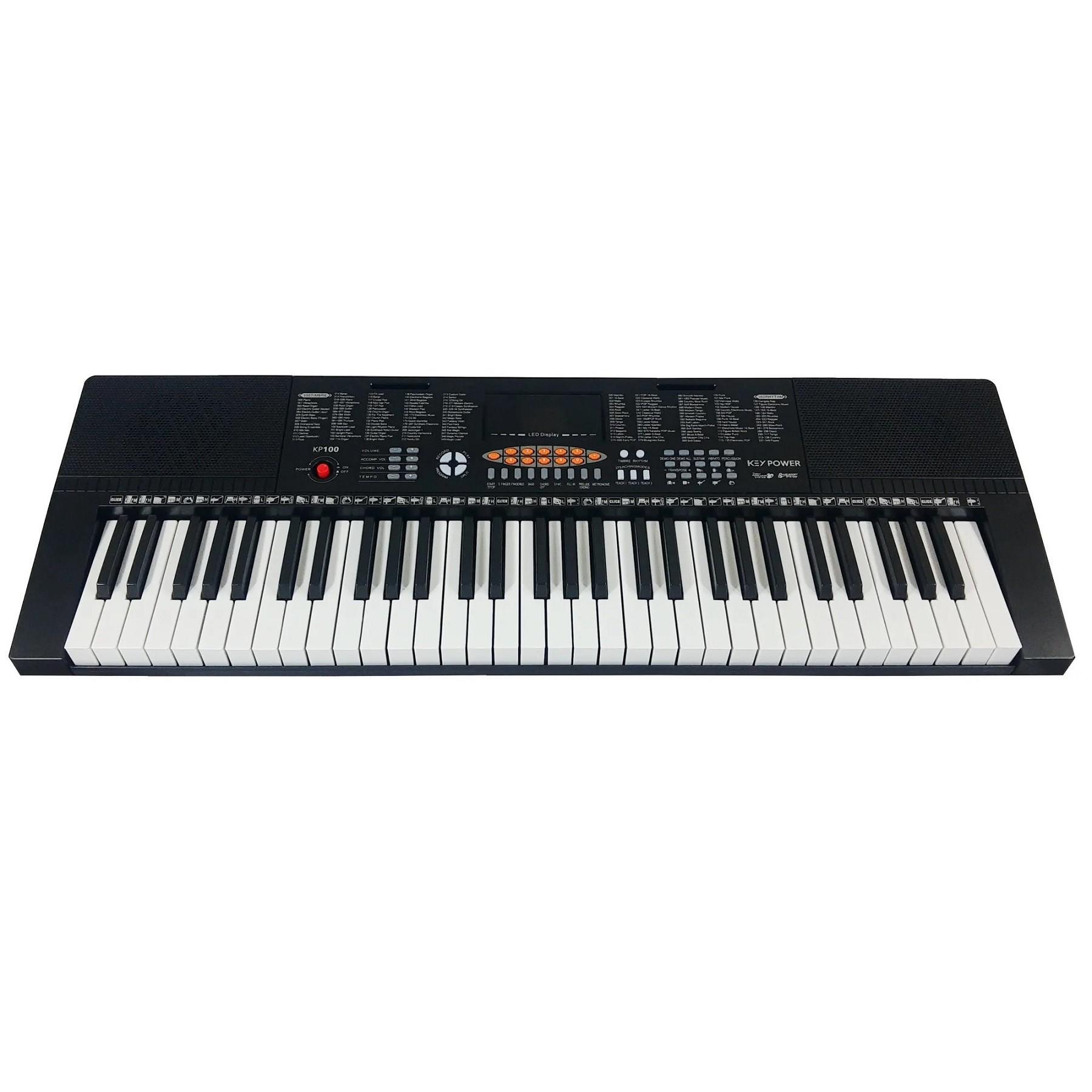 Teclado Musical 5/8 Estudante Kadosh Keypower Kp100