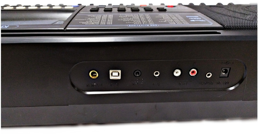Teclado Musical Keypower 61 Teclas Sensitivas Kp500 + Pedal