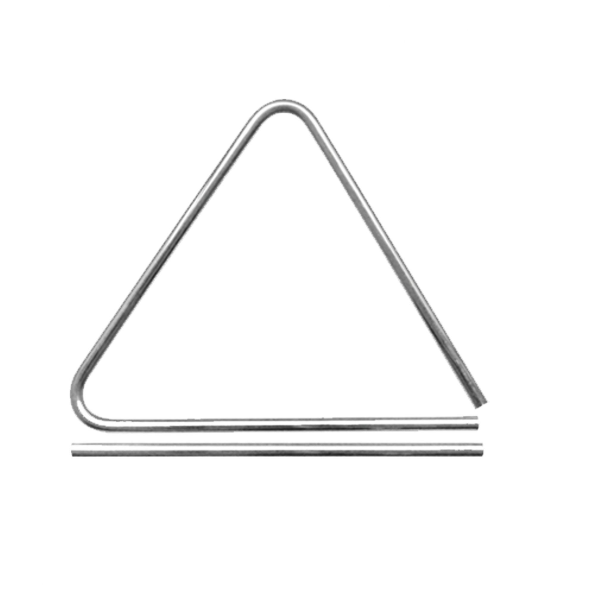 Triangulo De Alumínio 25cm Liverpool Tennessee TRATN-25