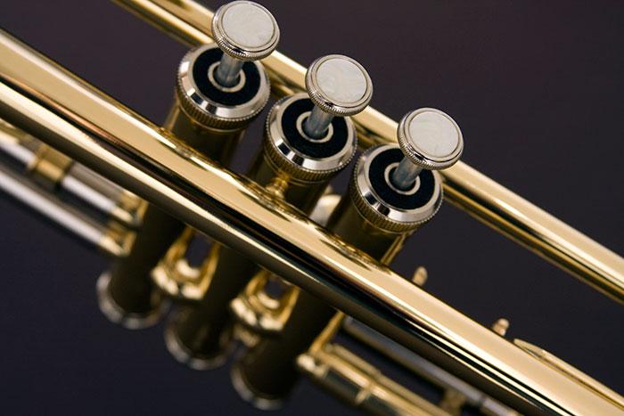 Trompete Eagle Tr504 Em Sib Com Estojo