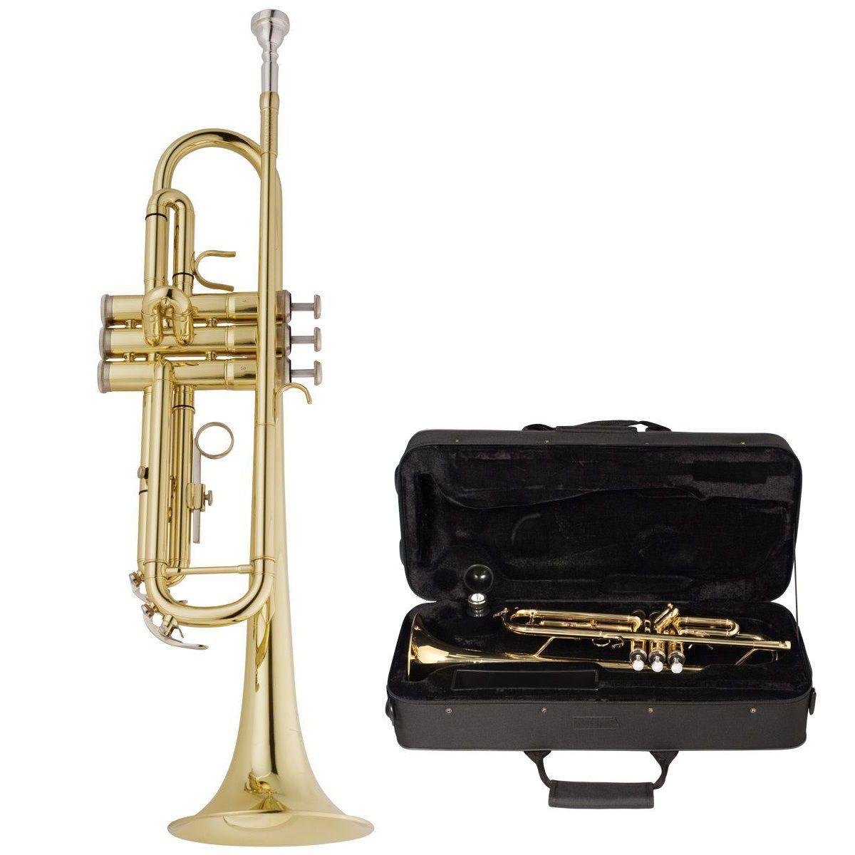 Trompete Vogga Vstr701N Laqueado
