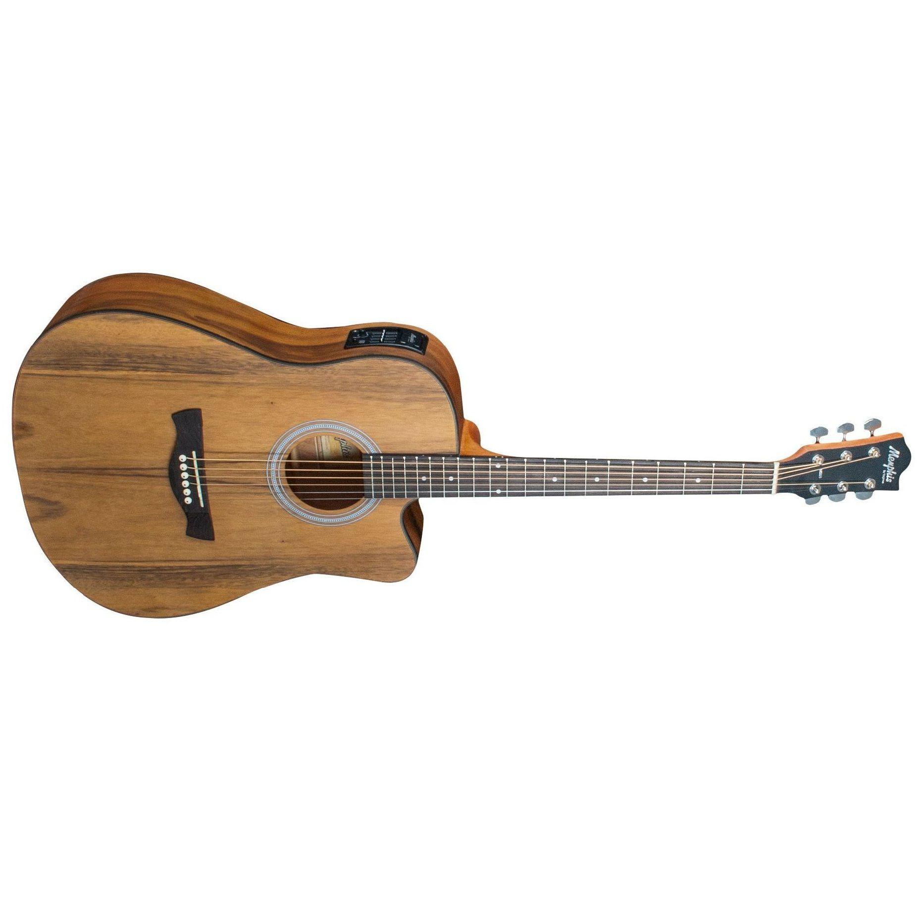 Violão Tagima Memphis Folk Elétrico Md25 Nw