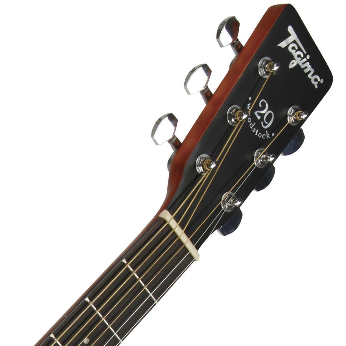 Violão Tagima Woodstock Elétrico Tw29 Ds Fosco