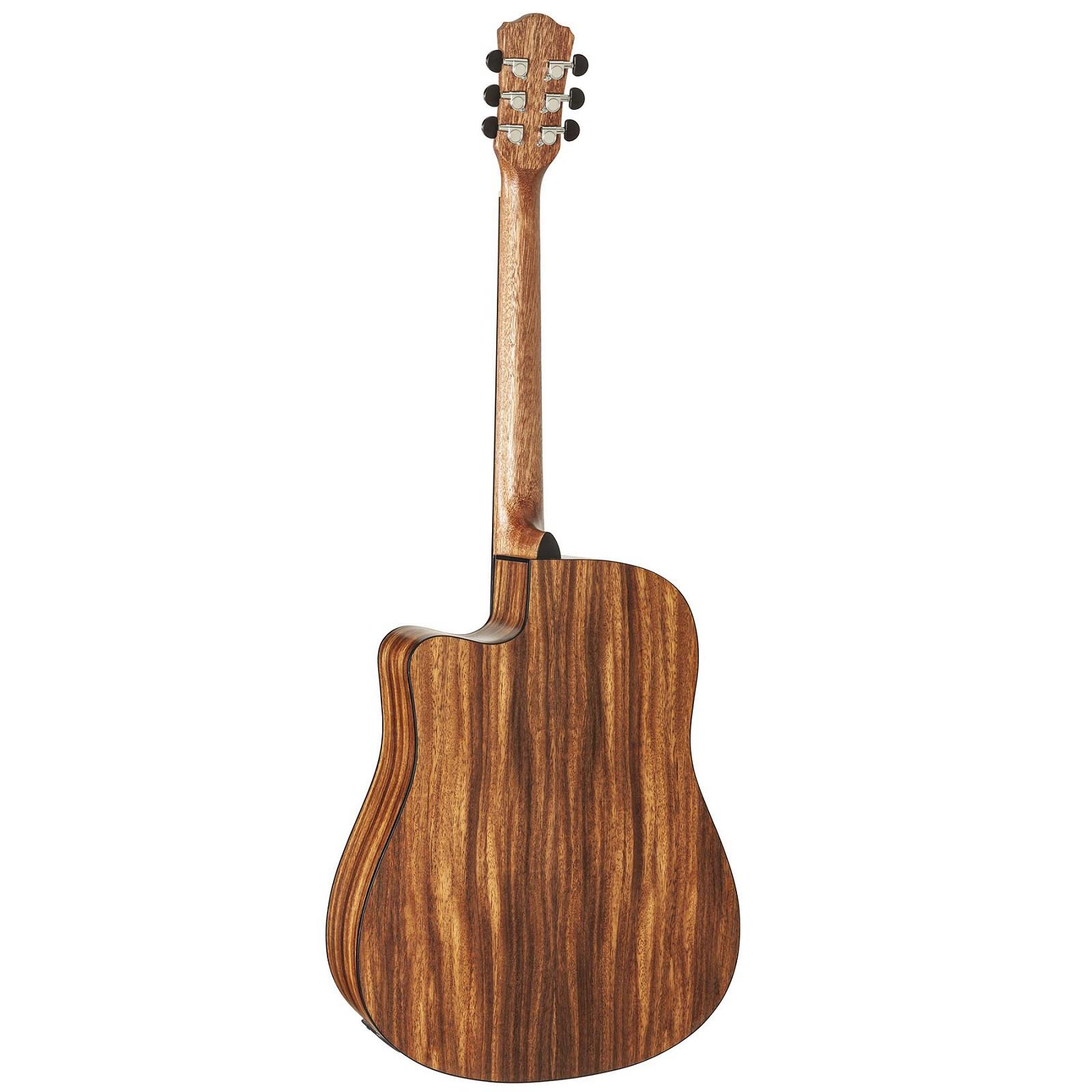 Violão Hofma Hmf280 Elétrico Folk Satin Natural