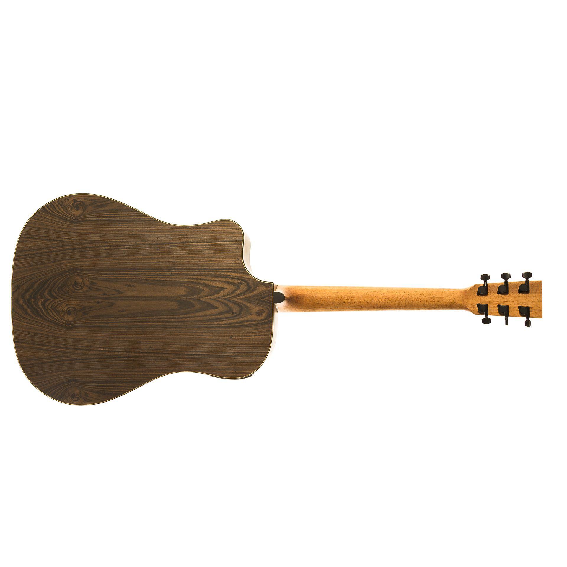 Violao Rozini Rx315 Atf Ct Lp Presença Brasil Elétrico Folk
