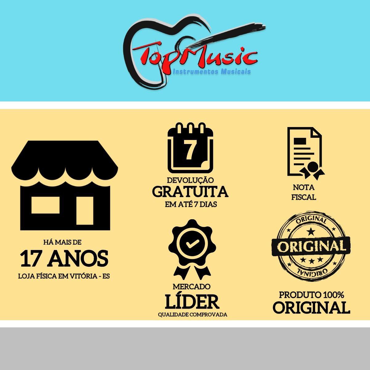 Violino Vivace Mozart Mo44 4/4 + Estojo Arco Breu