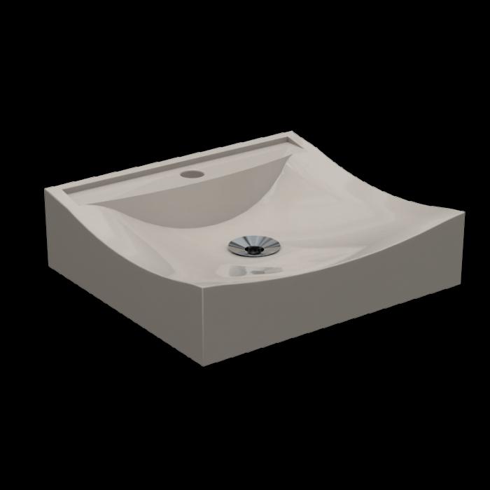 Cuba de Apoio Para Banheiro e Lavabo Modelo Romana Bege