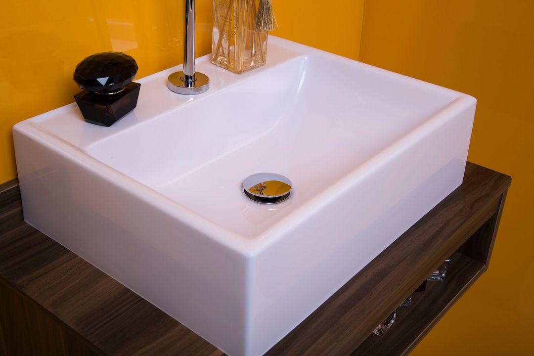 Cuba de Apoio para Banheiro Modelo Jacuzzi Preta