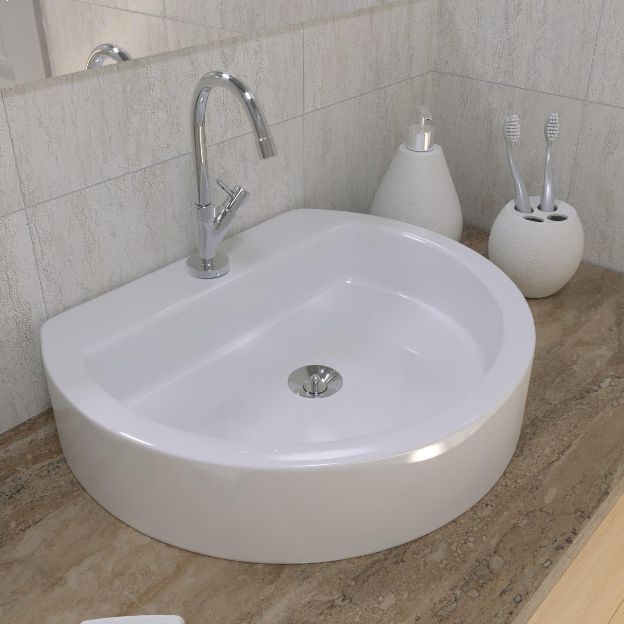 Cuba de Apoio para Banheiro Modelo Dallas 43x35