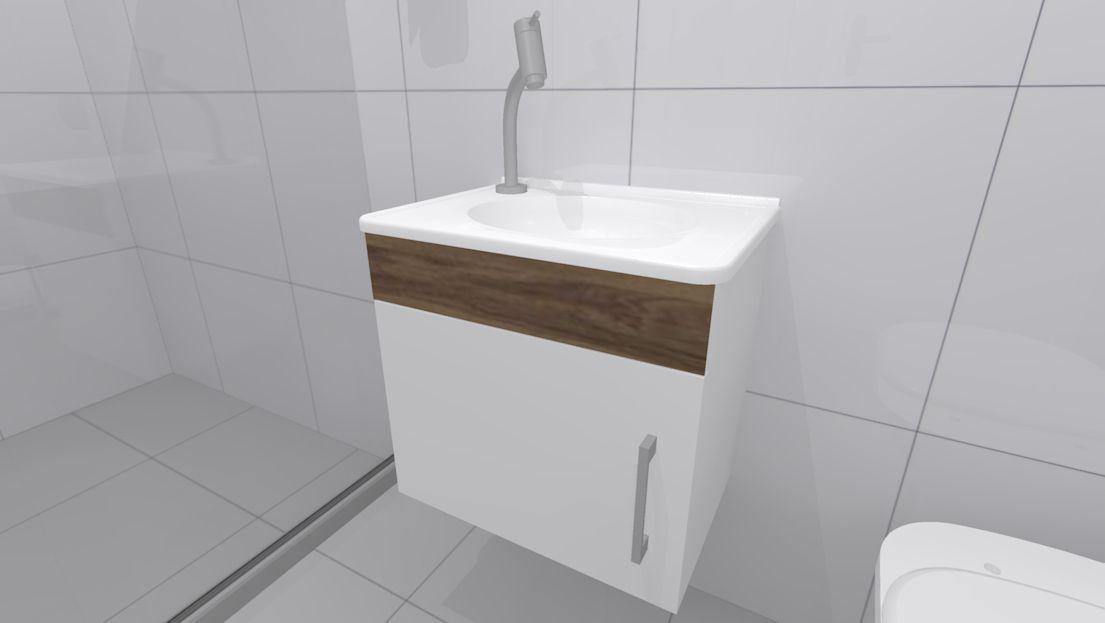 Kit Cuba Gabinete Para Banheiro Modelo Portuguesa Croy Cubas E Pias De Banheiro