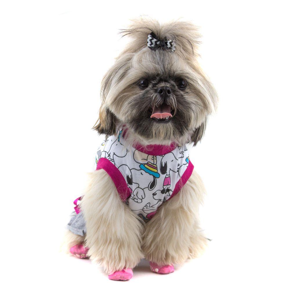 cd4073301b Camiseta Roupinha Pet Vestido Snoopy para Cachorro e Gato