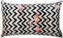 Capa almofada LYON Veludo estampado Flamingos 30x50cm