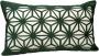 Capa Almofada Corte a Laser Provence Spin Verde 30x50cm