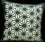 Capa Almofada Corte a Laser Provence Spin Verde 50x50cm