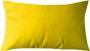 Capa Almofada Suede Amarelo 30x50cm - LISO
