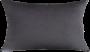 Capa Almofada Suede Cinza Chumbo 30x50cm - LISO