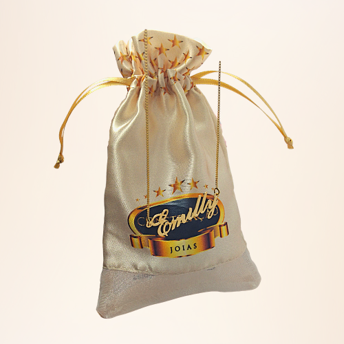 Colar Emilly Folheado a Ouro 18k  - Constelação Jóias