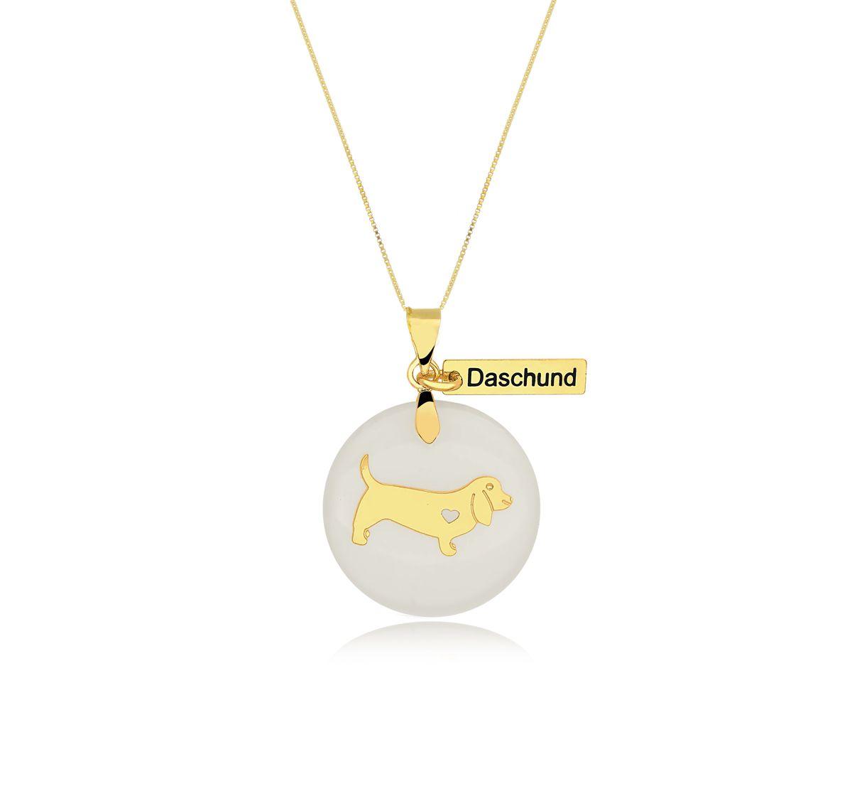Gargantilha Pets do Coração Daschund  - Constelação Jóias
