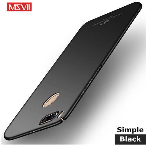 best sneakers 2c7fa 25b9a Case Msvii Xiaomi Mi A1/5x - Preto Fosco