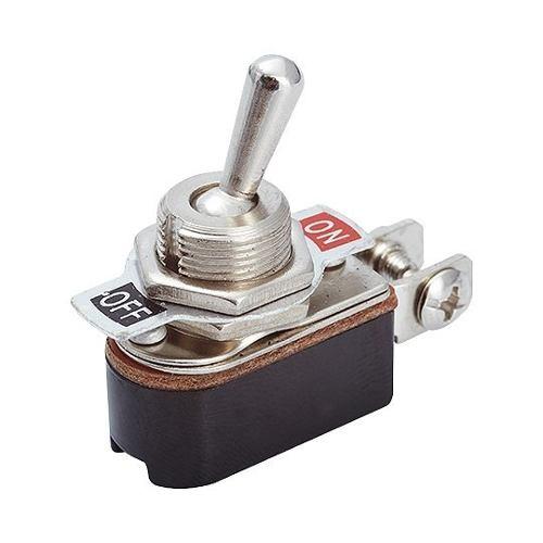 Botão Chave Alavanca 2 Polos Para Painel 15a 250vac