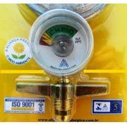 Regulador Para Gás Com Manômetro Ref.505/01 Aliança