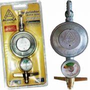 Regulador De Gás Ref.504/01 Com Manômetro Aliança