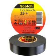 Fita Isolante Scotch 33+ Rolo Com 19mm X 20m Scotch 3m
