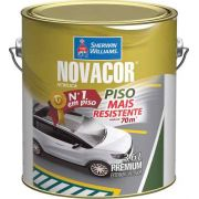 Tinta Pinta Piso Novacor Gl 3,6l Azul Sherwin Williams