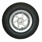 Roda De Alumínio Aro De 8 Com Rolamento Pneu E Câmara 380kg