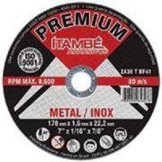 Disco de Corte Inox Premium 1mm Furo 22mm