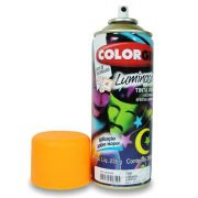 Tinta Spray Luminosa Colorgin 350ml - Laranja