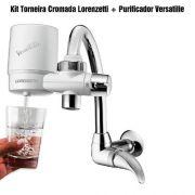 Filtro De Agua Versatille Com Torneira Cromada