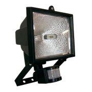 Refletor Halógeno Com Sensor De Presença + Lampada 300w 220v