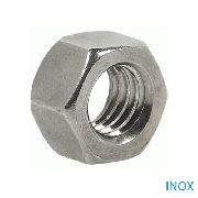 Porca Sextavada Inox 304 5/16 100 Peças + 3/8 100 Peças