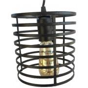 Luminária Pendente Industrial Colection Cilindrico