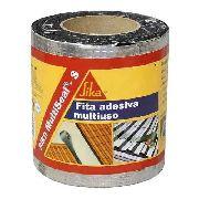 Fita Manta Asfáltica Alumínio Multiuso 20cm X 10m Sika