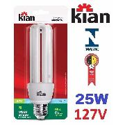 Lâmpada Fluorescente Eletrônica Compact 25w 127v Branca