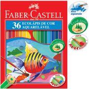 Lápis De Cor Faber Castell 36 Cores Aquarelável