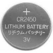 Bateria Pastilha Cr2450 3v 5 Peças