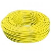 Cabinho Flexível 1,50mm 100 Metros  Amarelo Sil
