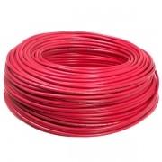 Cabinho Flexível 4,00mm 100 Metros  Vermelho Sil